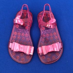 Gap pink jelly sandals